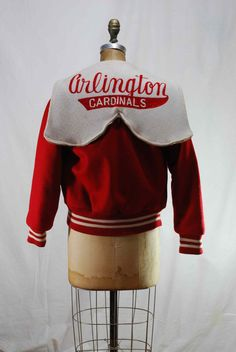 GO Cardinals vintage lettermens varsity jacket by LollyPOPvintage, $99.95