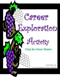 Career Exploration Activity Using the Career Clusters