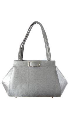 Zilveren avondtas [1230885] - €18,95 : Leuk Sjoppen, Goedkope online handtassen en damesaccesoires