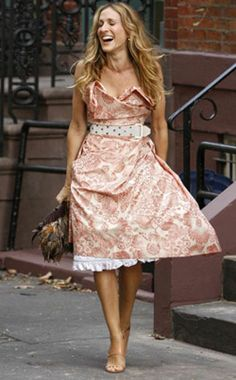Carrie Bradshaw - The Ultimate Downtown girl