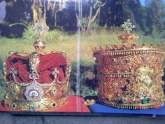 Crowns of Emperor Haile Selassie I & Empress Menen
