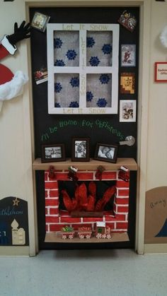 24 Popular Diy Christmas Door Decorations For Home And School. If you are looking for Diy Christmas Door Decorations For Home And School, You come to the right place. Below are the Diy Christmas Door. Diy Christmas Door Decorations, Christmas Door Decorating Contest, Christmas Classroom Door, School Door Decorations, Christmas Projects, Christmas Crafts, Christmas Trees, Christmas Store, Christmas Vacation