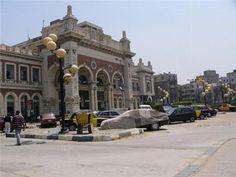 Alexandria Train station ( Mahatet Masr)