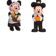Halloween Door Greeters Halloween door greeters are characters who stand at the door and usually hold a bowl or a pumpkin that is filled with candy. Thy can add much to your Halloween decorations.  Found on Amazon.
