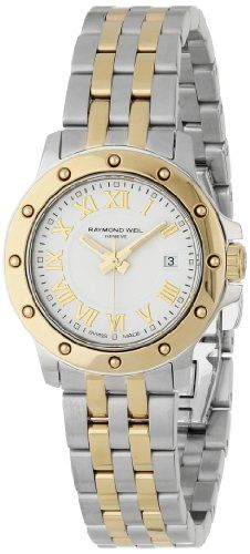 Raymond Weil Womens 5399STP00308 Tango White Dial Watch ** Check out this great product.