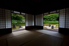 Kyoto garden Look ! This sence is so wonderful Kyoto Garden, Japan Garden, Japanese House, Japanese Gardens, Japan Travel, Japan Trip, Temple, Zen Rock, Wakayama