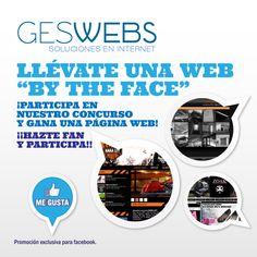 """Promoción facebook """"by the face"""""""