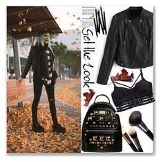 """""""Hello November"""" by stylemoi-offical ❤ liked on Polyvore featuring Bobbi Brown Cosmetics and stylemoi"""