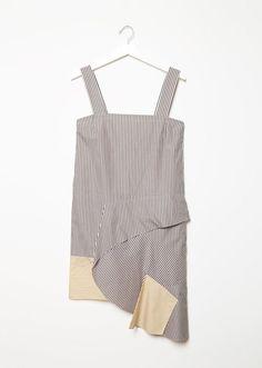 PORTS 1961 Bias Cut Ruffle Dress La Garconne