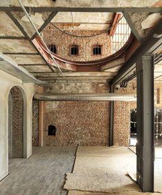 Han Tümertekin, Cemal Emden · Bomonti Brewery · Divisare, #Bomonti #Brewery #Cemal #Divisare #Emden #Han #officeinspirationindustrialexposedbrick #Tümertekin