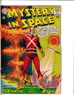 Comic Book Covers, Comic Books, Silver Age Comics, Bronze Age, World War, Dc Comics, Mystery, Author, Graphics