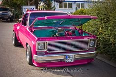 pink chevy truck | love the second pic of it! The pink looks way better in the 2nd pic!