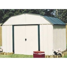 Arrow Sheridan Vinyl Coated Steel Shed