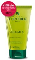 $19 Rene Furterer Volumea Shampoo.  Voted 1 of In Styles Best Beauty Buys.  Natural Carob extract provides body & bounce to fine, flat hair.  Ummm, chocolate for my hair?  I'm in.
