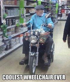 Coolest wheelchair - WHAT'S MEME ?