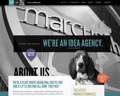 Marcus Thomas - CoolHomepages Web Design Gallery