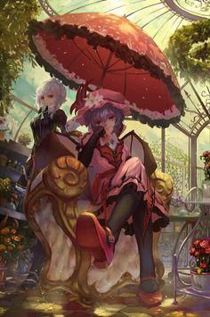 Sakuya & Remilia