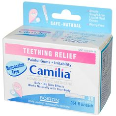 Camilia Teething Relief One of the best for my Leila Teething Symptoms, Teething Relief, Baby Teething, Best Toenail Fungus Treatment, Natural Teething Remedies, Sick Baby, Homeopathic Medicine, Active Ingredient, Baby Names