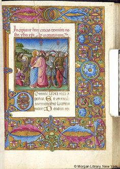 Book of Hours, MS M.454 fol. 62r - Images from Medieval and Renaissance Manuscripts - The Morgan Library & Museum