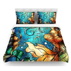 Check out the best mermaid bedding and quilt sets for your beach themed bedroom. For everyone who loves mermaid decor and home themes, these mermaid duvet covers, quilts, and comforter sets are amazing.