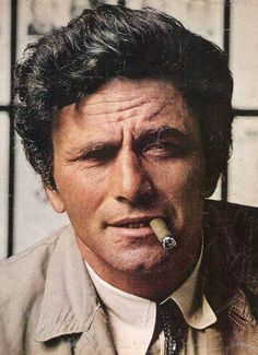 "Peter Falk 1 year without him, I miss him. ""There is one last thing I wanted to ask..."" Miss you dear Actor, Person, Colombo..."