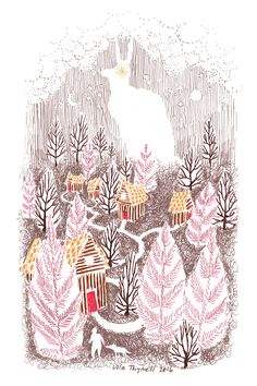 Ulla Thynell illustration