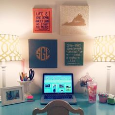 southernly-styled:  A little desk refresh