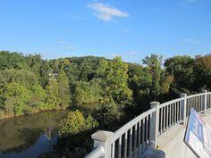 Oconee River Overlook Downtown Athens GA