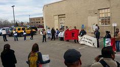 La Caravana Ayotzinapa 43 en MN: Más corazón que presión internacional