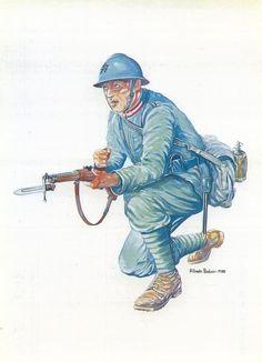 """Regio Esercito - FANTE DEL 77° REGGIMENTO """"LUPI DI TOSCANA""""  (1915-1918)"""