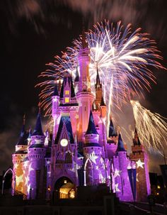 Disneyworld, FL...saw this in person and its amazing to watch my girls experience the magic! It's the best feeling!