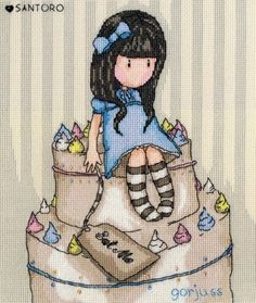 Sweet Cake - Gorjuss Cross Stitch