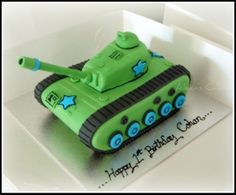 tank 3d cake tutorial - Bing Images.