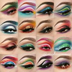 Eyes Me Out 😍😍😍 __ It's Friday Ladies. Let's inspire your next eye make look! __ We are now open for business, Kindly scroll through our page to shop! Crazy Eye Makeup, Makeup Eye Looks, Creative Makeup Looks, Eye Makeup Art, Colorful Eye Makeup, Goth Makeup, Beautiful Eye Makeup, Skin Makeup, Eyeshadow Makeup