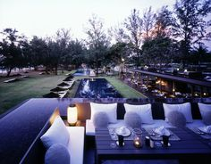 SALA PHUKET Pool Area by Department of Architecture