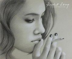 kiko mizuhara 3 by hong yu - Pencil Drawings by Leong Hong Yu  <3 <3