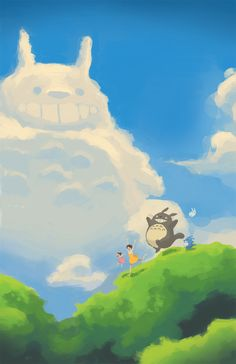 Totoro by WhyBarra.deviantart.com on @deviantART