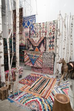 Boucherouite rugs, I'm in love.