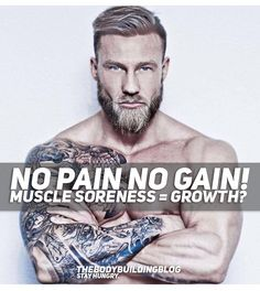 If you have ever wondered whether muscle soreness and muscle growth are related, then you really need to check this fitness article. It provides a deep understanding of the matter whether soreness is required for muscle gain. Keep reading at TheBodybuildingBlog!