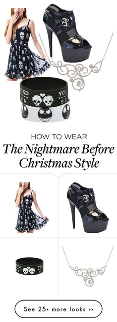 """Untitled #36"" by xxrazorbladekissxx on Polyvore featuring The Highest Heel"