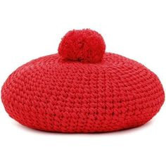 Gucci Knitted Cotton Beret