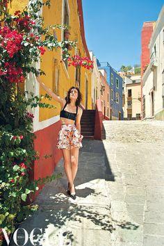 produccion Vogue Mexico julio 2013 puro color