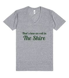 That's How We Roll in the Shire