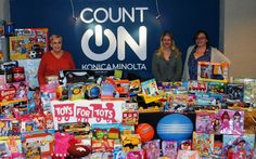 Konica Minolta employees, nationwide, are giving kids in need the chance to learn by collecting school supplies for families who cannot afford them. Children In Need, Kids, Toys For Tots, Personal Wellness, Konica Minolta, Best Places To Live, School Supplies, Families, Young Children