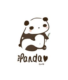 Panda Panda Art Print by I3uu | Society6