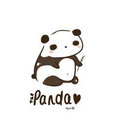 Panda Panda Art Print by I3uu | Society6
