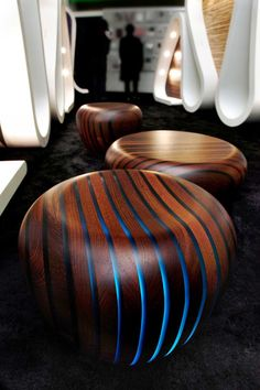 Bright Wood - fascinating collection of tables, seats and lamps by Giancarlo Zema - www.homeworlddesign. com (15)