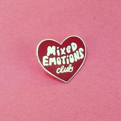 Mix Emotions Club Pin | @MissBethKatie ♡