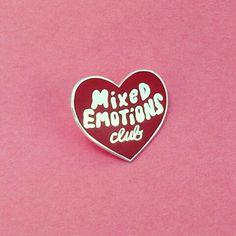 Mix Emotions Club Pin | @MissBethKatie ♡
