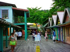 In Ocho Rios stop by the village for shopping and have drink at Margaritaville